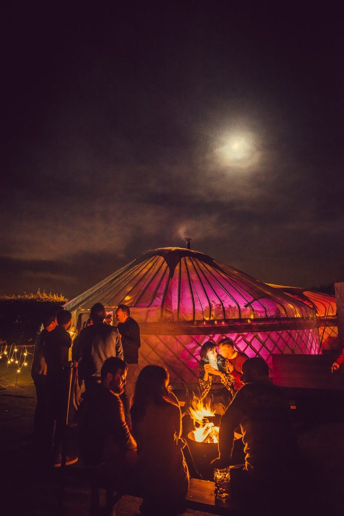 If you need a few minutes away from the dancefloor, hang out near the firepits. #Christmasparty #Leeds #Yorkshirebiz  http:// ow.ly/qLDi30efiRX  &nbsp;  <br>http://pic.twitter.com/FjhbenKOat