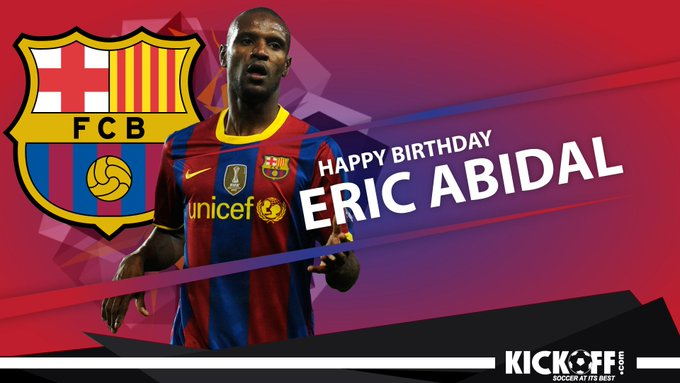 Happy Birthday to Barcelona legend Eric Abidal! 19 trophies Beat Cancer  Champion