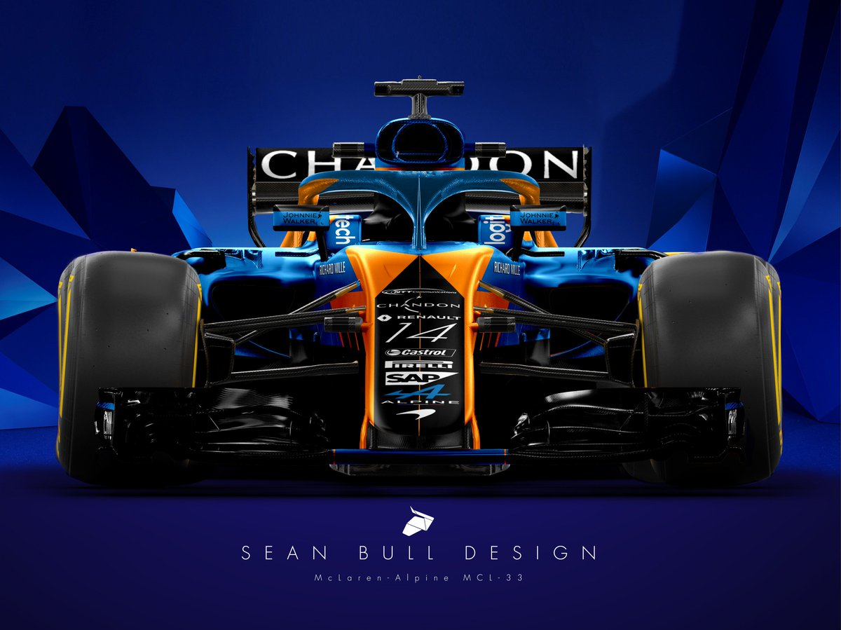 2018 mclaren f1 car. beautiful car sean bull design on twitter  intended 2018 mclaren f1 car 1