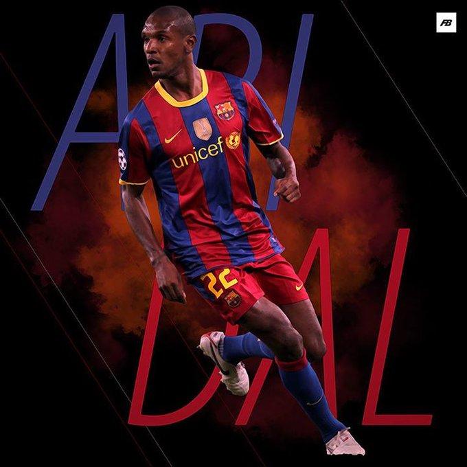 Happy 38th birthday to Eric Abidal!     LaLiga   Ligue 1  Champions League