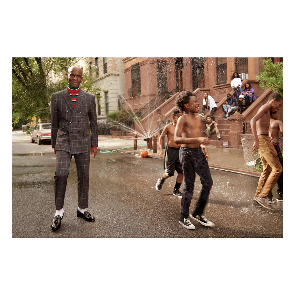 Introducing Dapper Dan @dapperdanharlem, the face of the new men's #GucciTailoring campaign. #AlessandroMichele