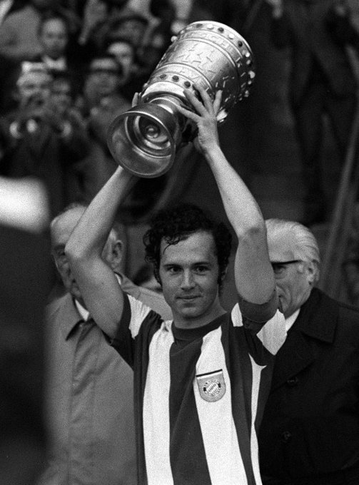 FCBayernEN: DFBPokal_EN: A 4  -time winner with FCBayernEN - happy birthday, Franz beckenbauer!
