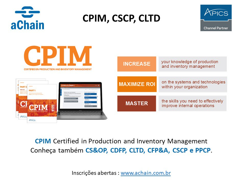cpim certified in production and inventory Cpim certified in production and inventory management pass4sure certification exam prep training including q&a, actual test answers and free study guide downloads.