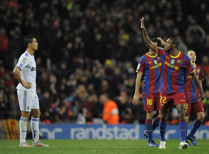 Happy Birthday to Barça legend Eric Abidal!