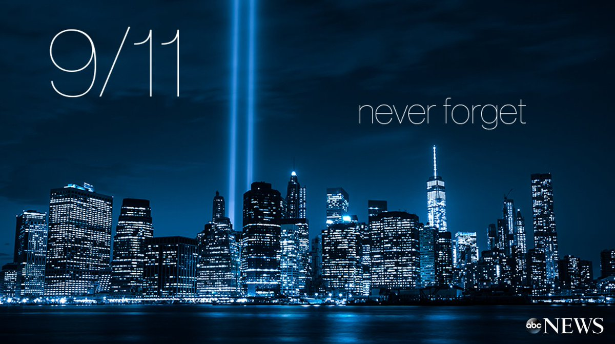 Remembering all those lost, 16 years ago today. #NeverForget #Honor911