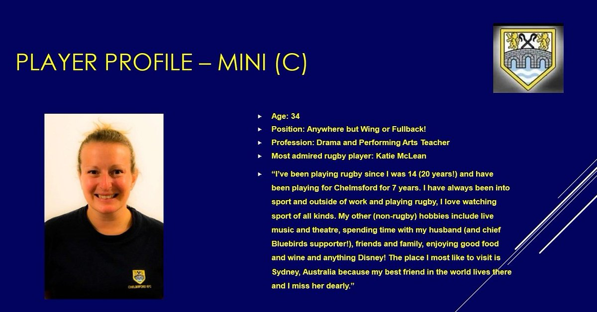 It&#39;s #meettheplayer Monday! This week meet our Captain and top utility player - Mini Meet a new player every week with our #playerprofiles <br>http://pic.twitter.com/XvdsLLGx2Z