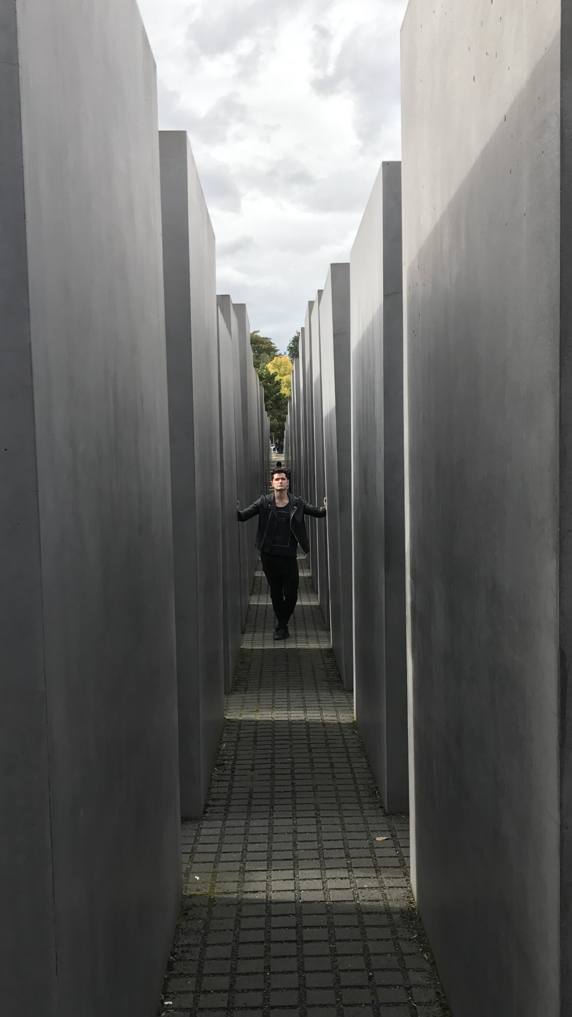 Holocaust memorial in Berlin.really hits home. God bless their souls x https://t.co/h5iFQialVZ