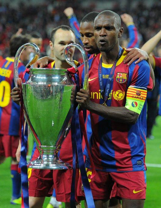 Wish two-time winner & Barcelona hero Éric Abidal a happy birthday!