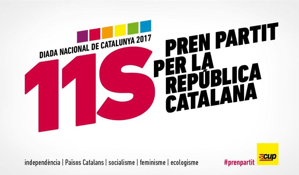 Aquest és l'spot de la CUP pels espais gratuïts de propaganda electoral! #prenpartit pic.twitter.com/POGFHMyZJB — CUP #referèndumCAT (@cupnacional) 19 de setembre de 2017 Tweet