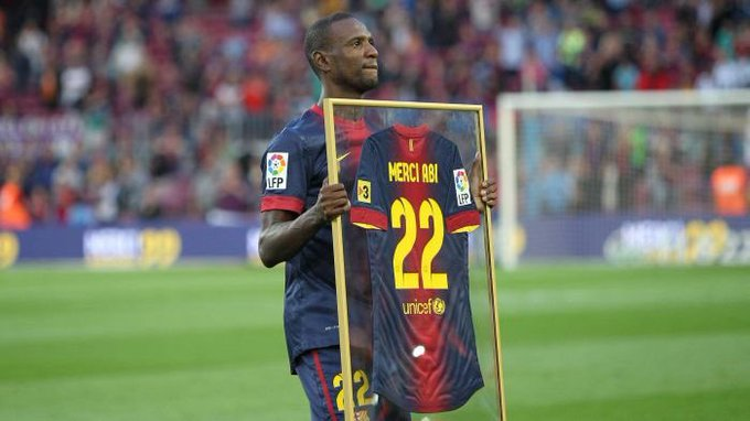 A great player and fighter  Happy Birthday, Eric Abidal
