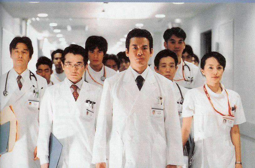 とりあえず来週ジェネラル・ルージュとか医龍とか進藤先生とか全員総動員すればいいよ。 #コードブルー