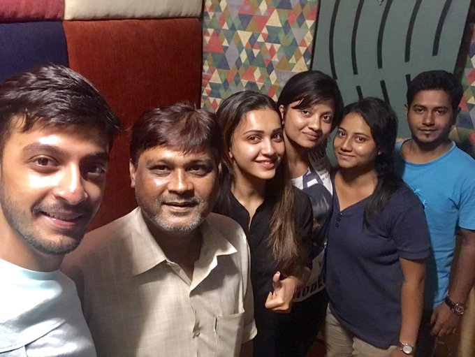 Dubbing done for #JioPagla 😊 https://t.co/IYZdVCrLy2