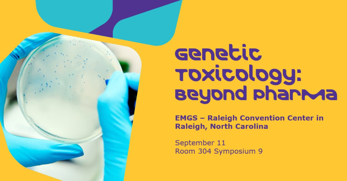 """At EMGS? Stop by Room 304 Symposium 9 for Sonya Banks' supporting presentation """"Genetic Toxicology:  Beyond Pharma"""" #emgs2017 <br>http://pic.twitter.com/HrwdYQtvMP"""