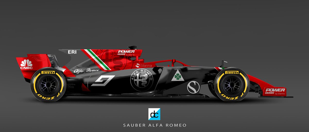 daniel crossman on twitter icymi a couple more sauber alfa romeo 2018 f1 liveryconcepts. Black Bedroom Furniture Sets. Home Design Ideas