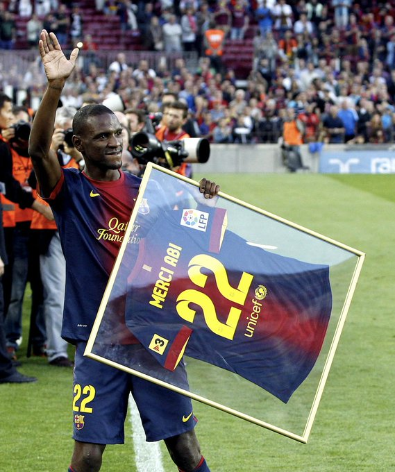 Happy Birthday to Barcelona Legend Eric Abidal!  19 trophies Beat Cancer Inspiration