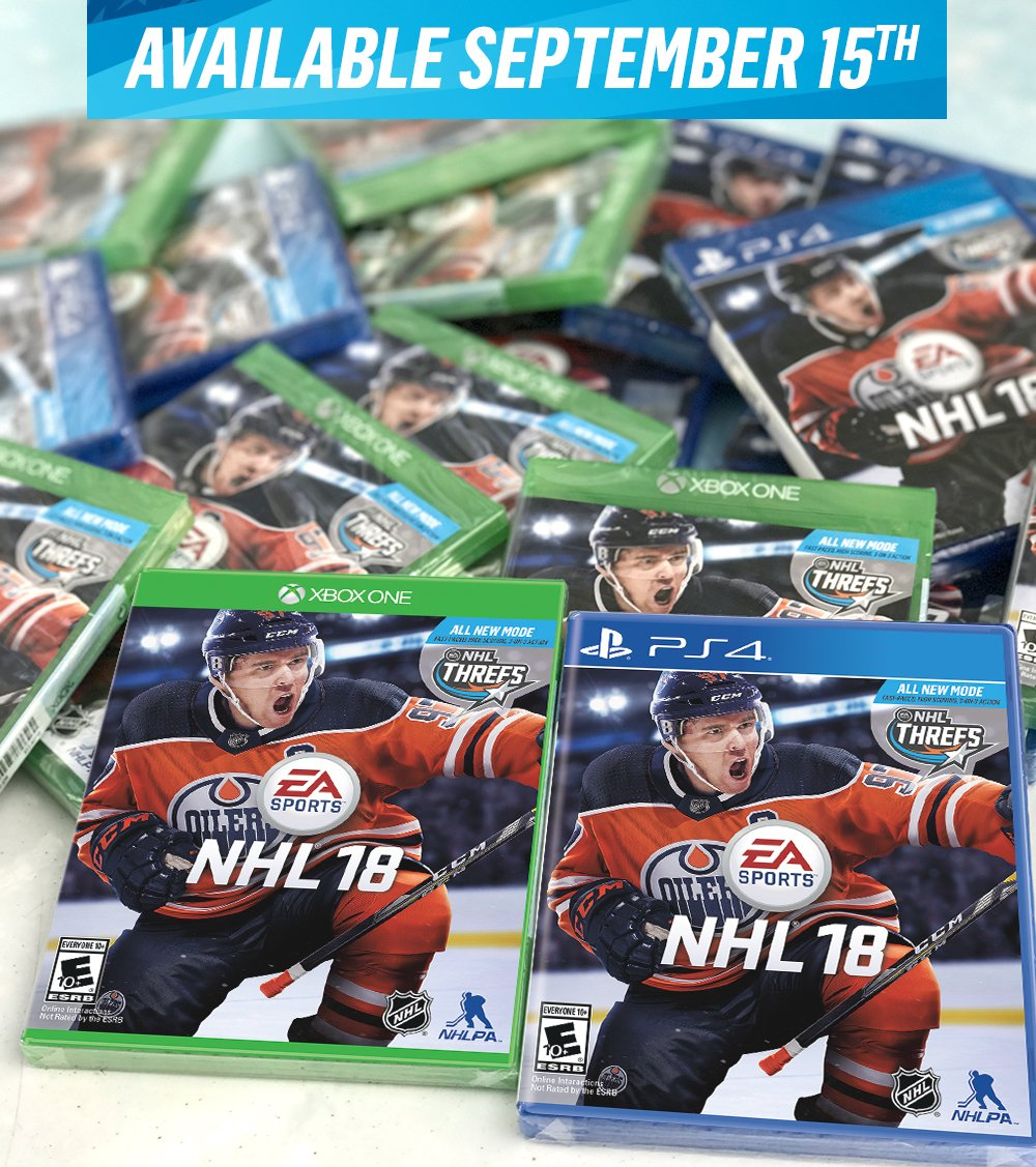 We still have #NHL18 early copies