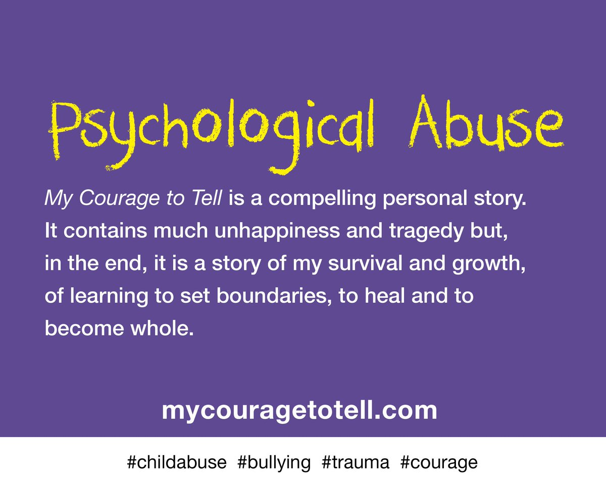 psychological abuse Psychological abuse is a subtle method used to destroy a child's sense of well being, to instill fear or terror, or prevent, undermine or destroy confidence.