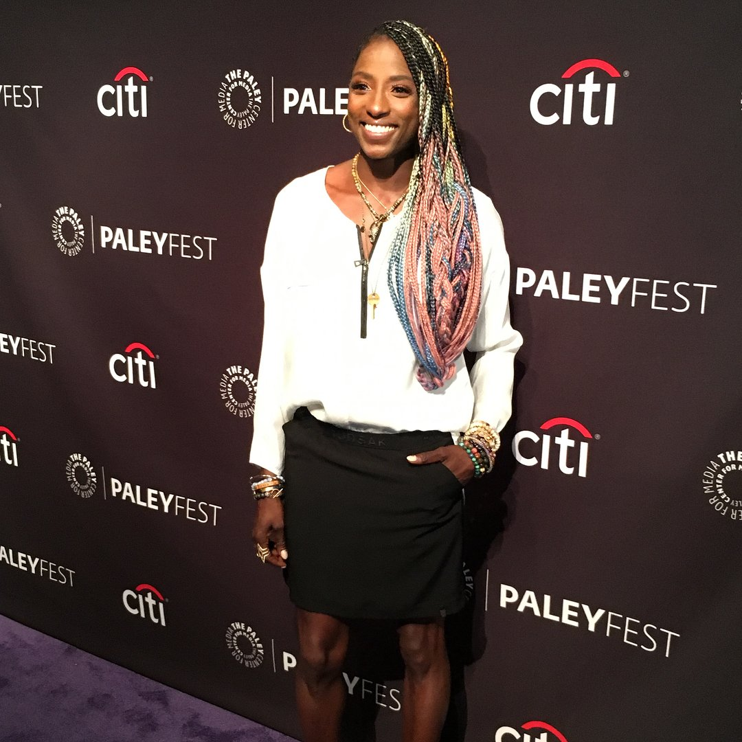 #RUTINAWESLEY for #PALEYFEST @paleycenter #MakeUp by @mylahmorales #mylahmoralesbeauty #Glaminator #VISIONNATIONARTISTSpic.twitter.com/vqmyeIjF5e