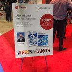 Image for the Tweet beginning: Come to @CanonUSA  booth