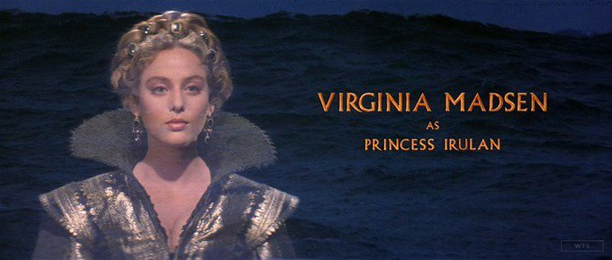 New happy birthday shot What movie is it? 5 min to answer! (5 points) [Virginia Madsen, 56]