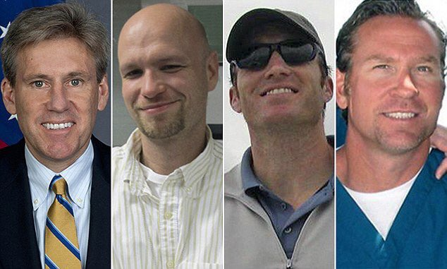 Five years ago today these men were murdered by radical Islamic terrorists. #NeverForget