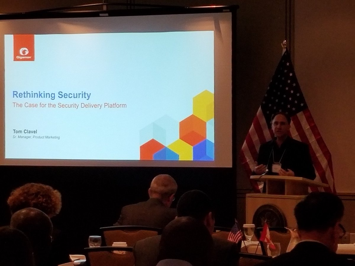 At the US Cyber Security Trade Mission in Toronto, Ottawa, and then Montreal, sharing how @Gigamon helps secure data. #SeeWhatMatters <br>http://pic.twitter.com/h7FRdwkbLC