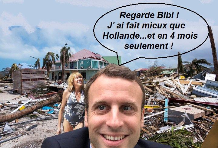 #EnMarche #lesrepublicains  #irma #Antilles  #Macron vs #hollande ....ou : &quot;Choses promises...choses dues &quot;. <br>http://pic.twitter.com/00ruU6iWQG