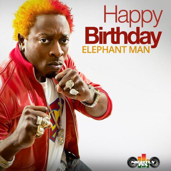 Happy Birthday Ele!  favourite Elephant Man song?