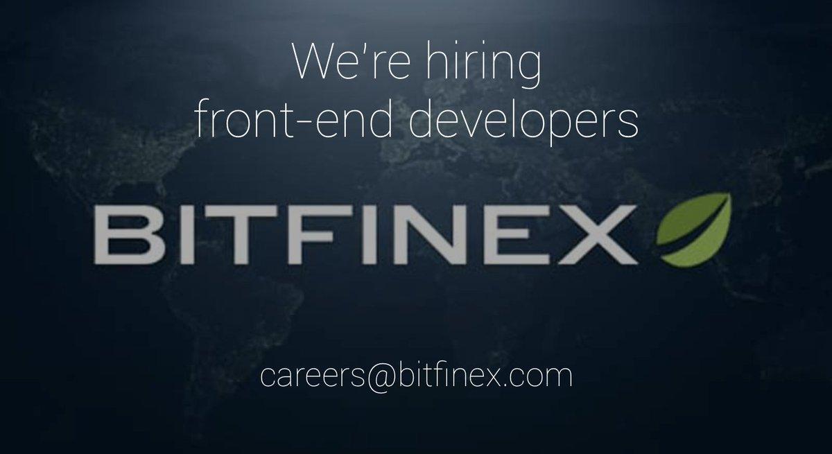 Bitfinex on Twitter: