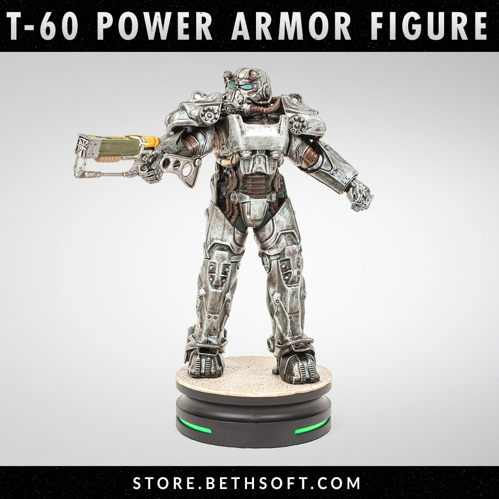Modern Icons #1 Fallout 4 T-60 Power Armor Statue SOLD OUT