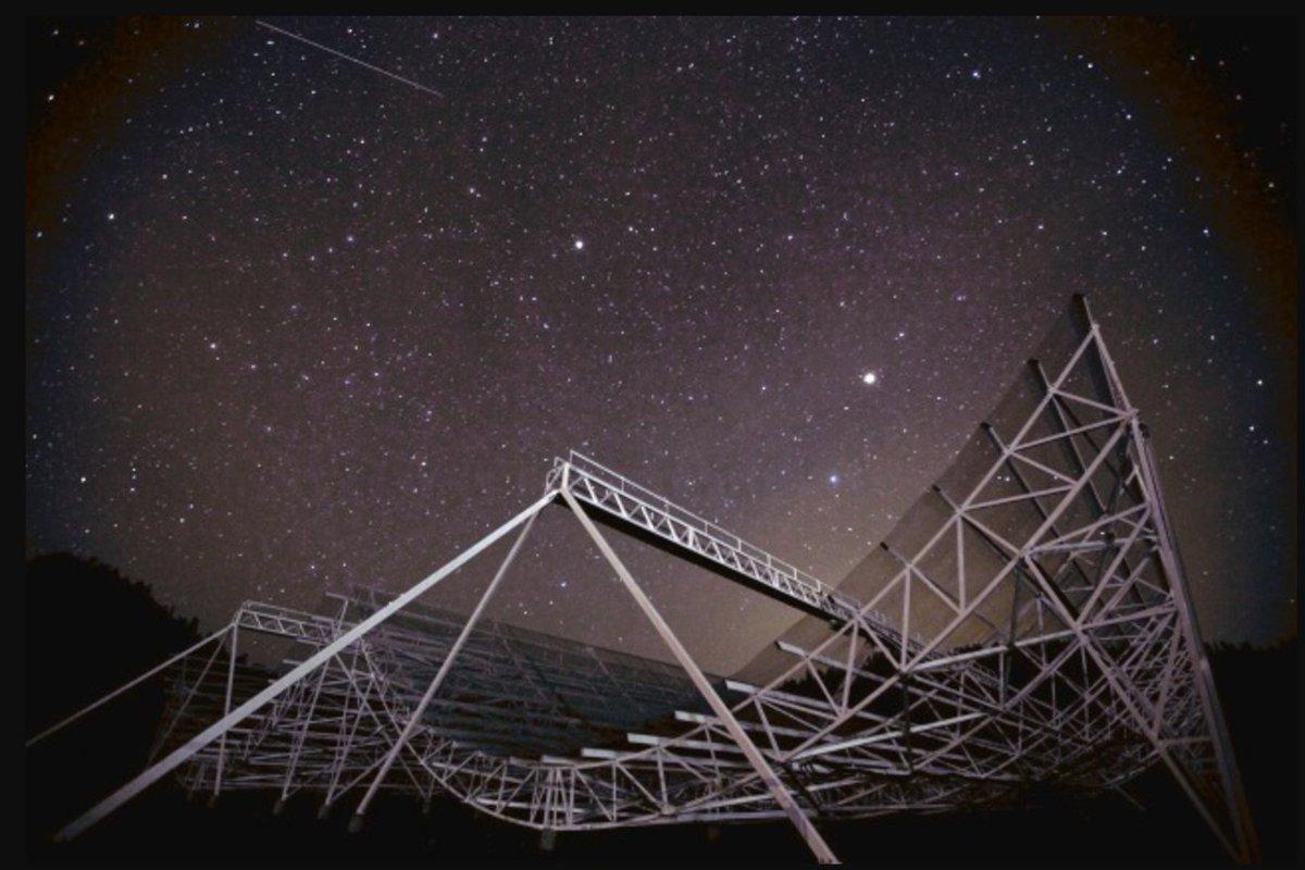 O telescópio canadense Chime também tem por objetivo o estudo do Universo