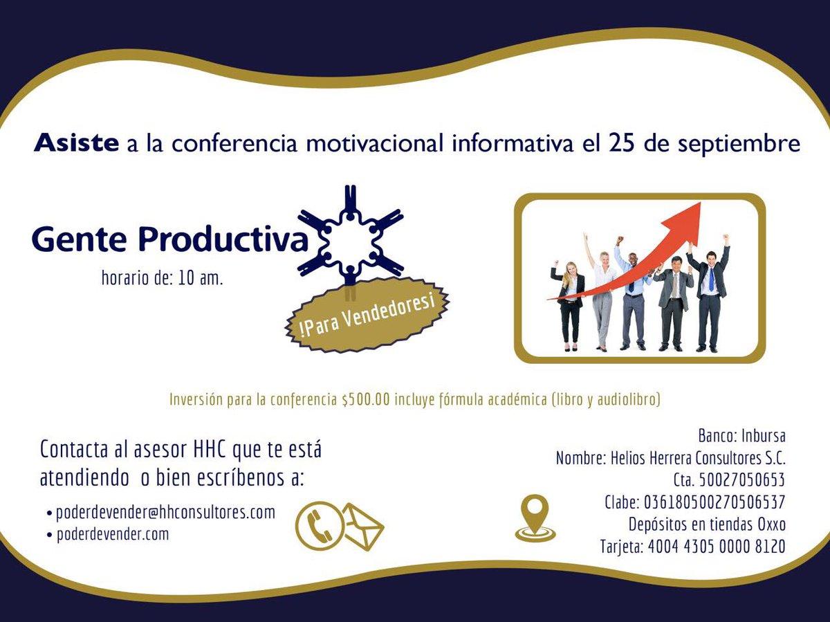 Helios Herrera On Twitter Ven A Mi Conferencia Para