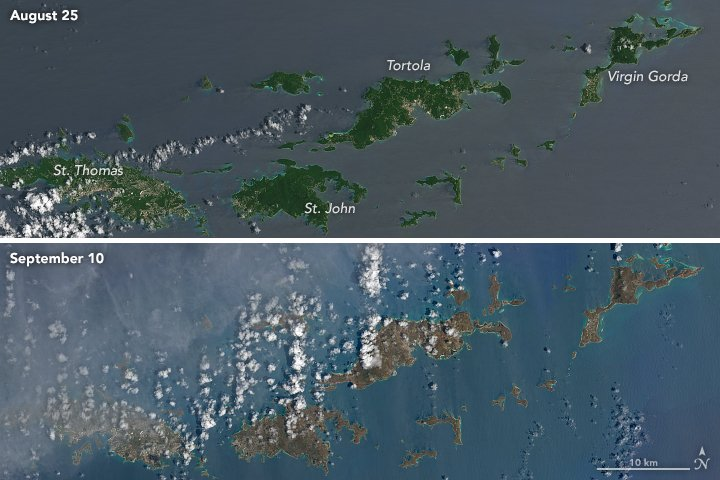 Hurricane Irma Turns Caribbean Islands Brown  https://t.co/CIOrCeYzfG #NASA