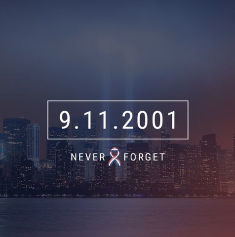 thinking of those who lost their loved ones on this day 16 years ago.... #neverforget