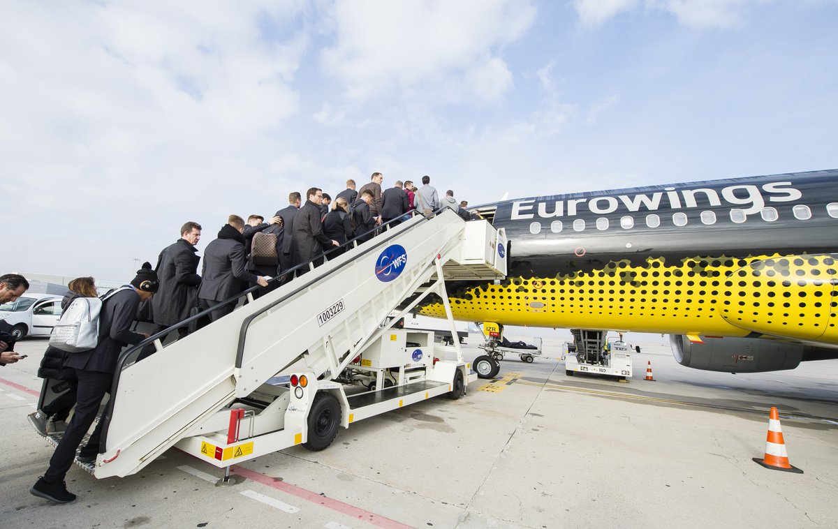 Flug einen wünsche euch guten 'Gute Reise'!