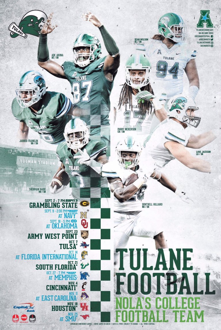 Poster Swag On Twitter Icymi We Have Announced Our Fbs Football
