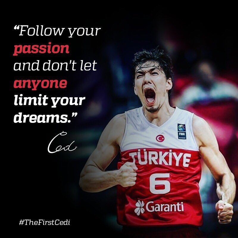 #MondayMotivation x #TheFirstCedi  Congrats on an impressive #EuroBasket2017 Tourney run, @cediosman! 🇹🇷 👊