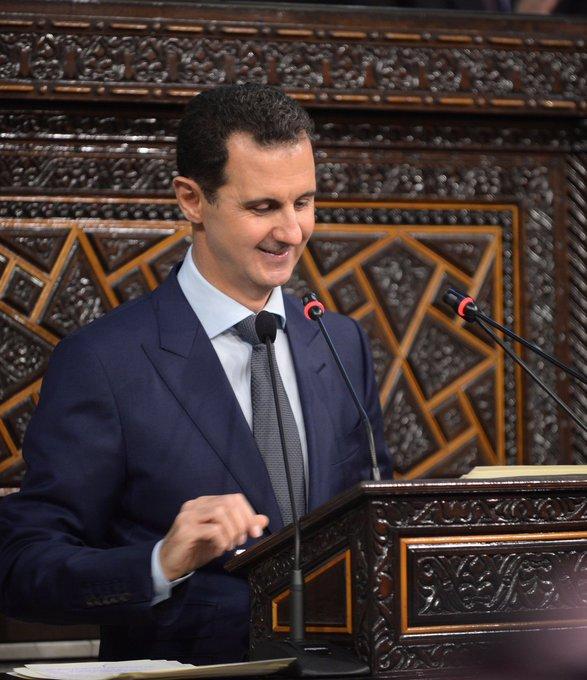 Happy birthday to the great leader of president Bashar al-Assad