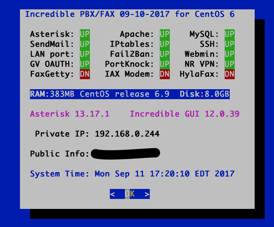 GOOD NEWS - Incredible PBX 13 for CentOS 6 Updated | PIAF - Your own