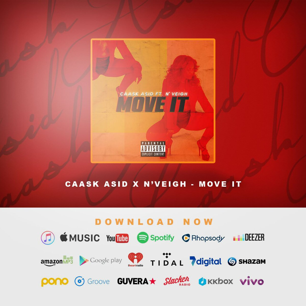 Download @CAASK_ASID Ft. N'Veigh -Move it   AudioMack- https://t.co/Df8E7DZZDR  SoundCloud - https://t.co/L7Dc4Ophb6 https://t.co/lhxcZdXKLt