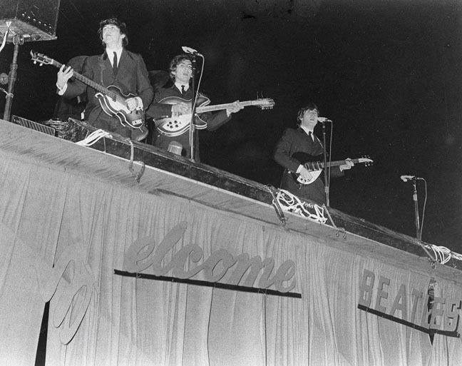 #OTD 11SEP1964 @thebeatles played the #GatorBowl in #Jacksonville the day after #Hurricane Dora.pic.twitter.com/fnc3BLLxhu