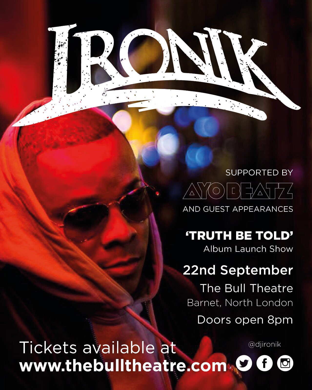 RT @LaVida_PR: 22nd September looking forward to see @DJIronik Album Launch Show https://t.co/w2Cw5IiPkT