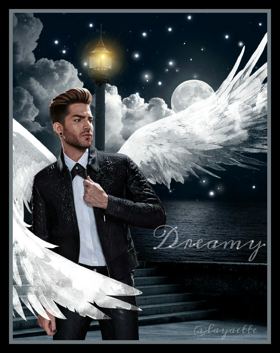 I&#39;m feeling sick tonight and need some sleep. I made a pretty edit instead Sweet Dreams #glamberts #AdamLambert <br>http://pic.twitter.com/FKABiPiEHE
