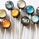 #宇宙の日 ですが…地球:コットンキャンディ味土星:グァバ味木星:キーライム味火星:洋ナシ味水星:ト…