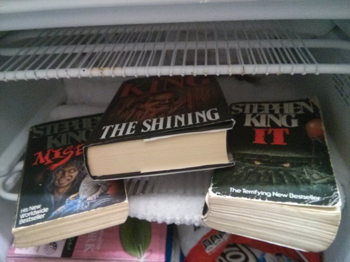 @StephenKing I endorse this wholeheartedly. IT is amazing, and has pride of place in my freezer.