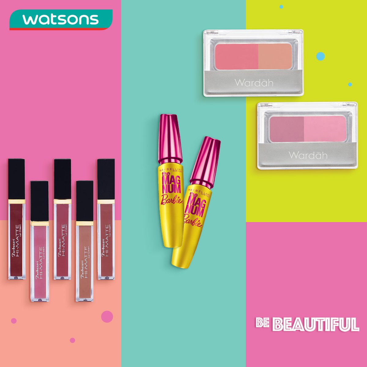 Watsons Indonesia On Twitter Kick Tuesday Blues Dengan Tampil Lipstick Matte Purbasari Purba Sari Lookgood Feelgreat Save More For Ur Fav Makeup Anytime Anywhere With Shoppin In