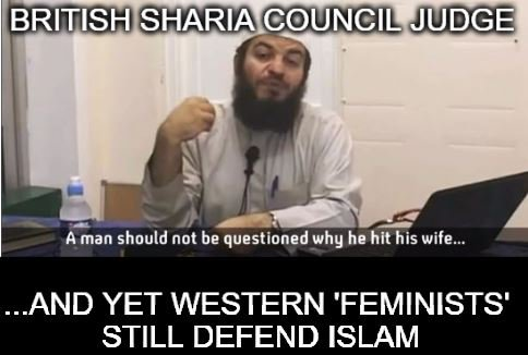 British Sharia Council judge: A man should not be questioned why he hit his wife  https://t.co/yvwvWt7WQe  #immigration #MAGA