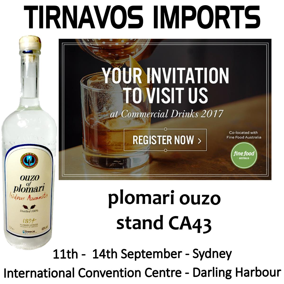 Register Now For Free Entry - Use Promo Code: CHEERS -  http://www. goo.gl/jzijsU  &nbsp;   * Commercial Drinks Fine Food Australia 2017 * #sydney #expo <br>http://pic.twitter.com/jP1BOz1rHR