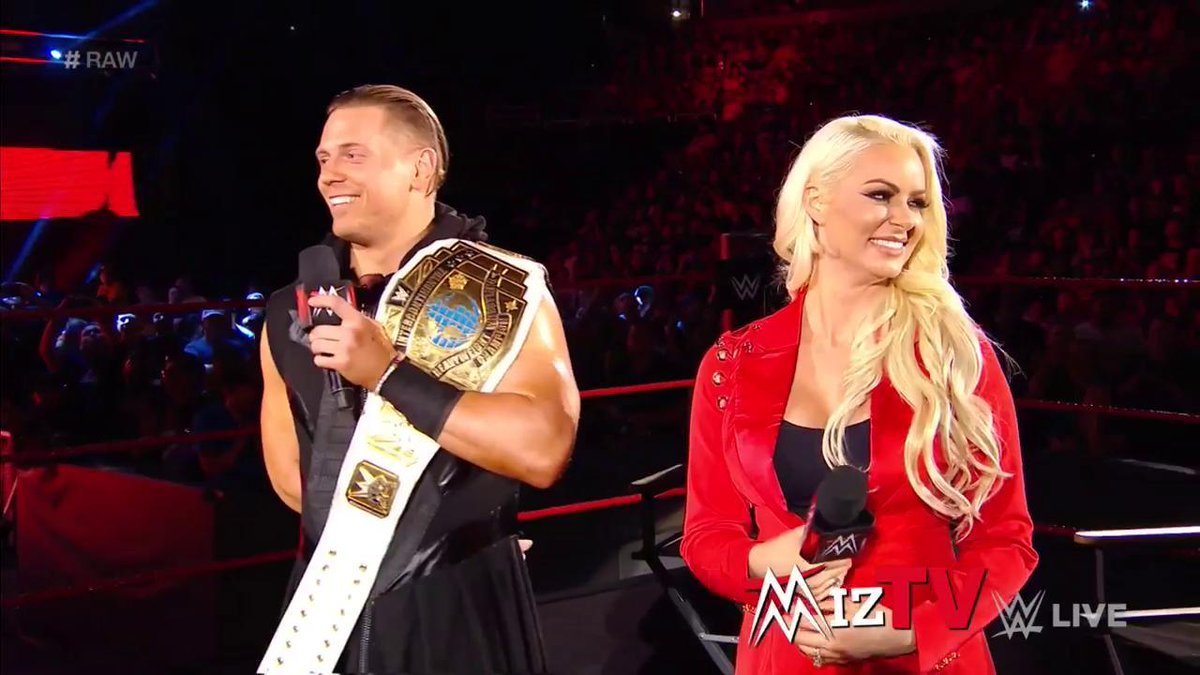 The most must-see BABY of all-time is coming soon! CONGRATULATIONS, @mikethemiz and @MaryseMizanin! #RAW