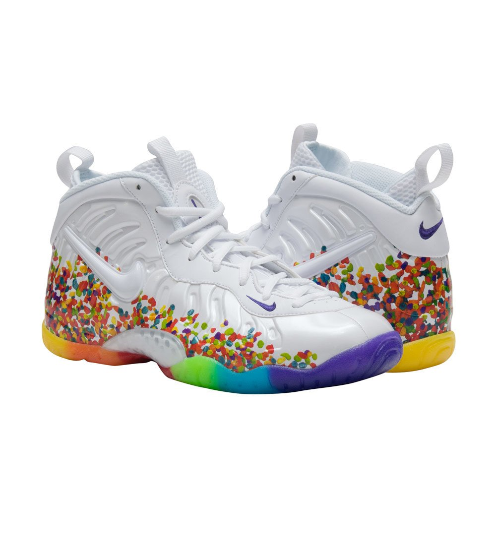 "ba6e25be6382a  RESTOCK   Nike Lil Posite Pro ""Fruity Pebble"" Is Available-Last  Szs!- http   bit.ly 2wlMACR   hypebeast"